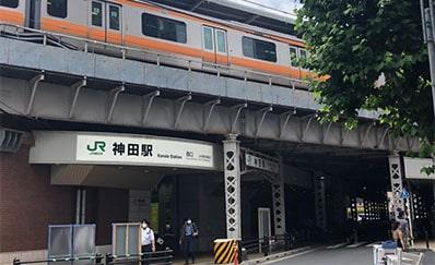神田駅からのアクセス