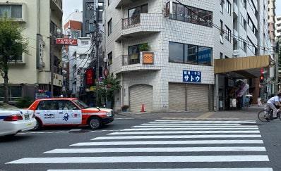 恵比寿駅(日比谷線)からのアクセス