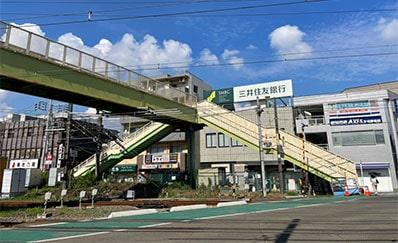 矢向駅からのアクセス