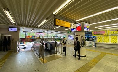 小岩駅からのアクセス