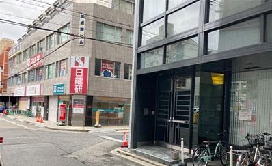 堺東駅(北西口)からのアクセス