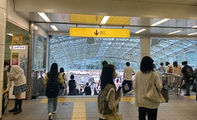 西葛西駅からのアクセス